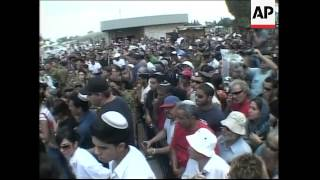 Funeral of Israeli soldier, Hamas march in Beit Lahiya, rocket attack in Sderot