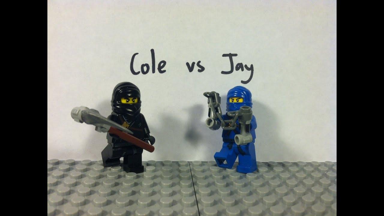 Lego ninjago cole vs jay youtube - Ninjago vs ninjago ...