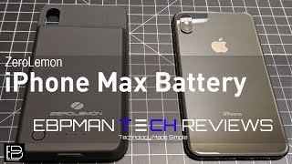 Extend 105%+ Power to Apple iPhone XS Max Battery Case from ZeroLemon