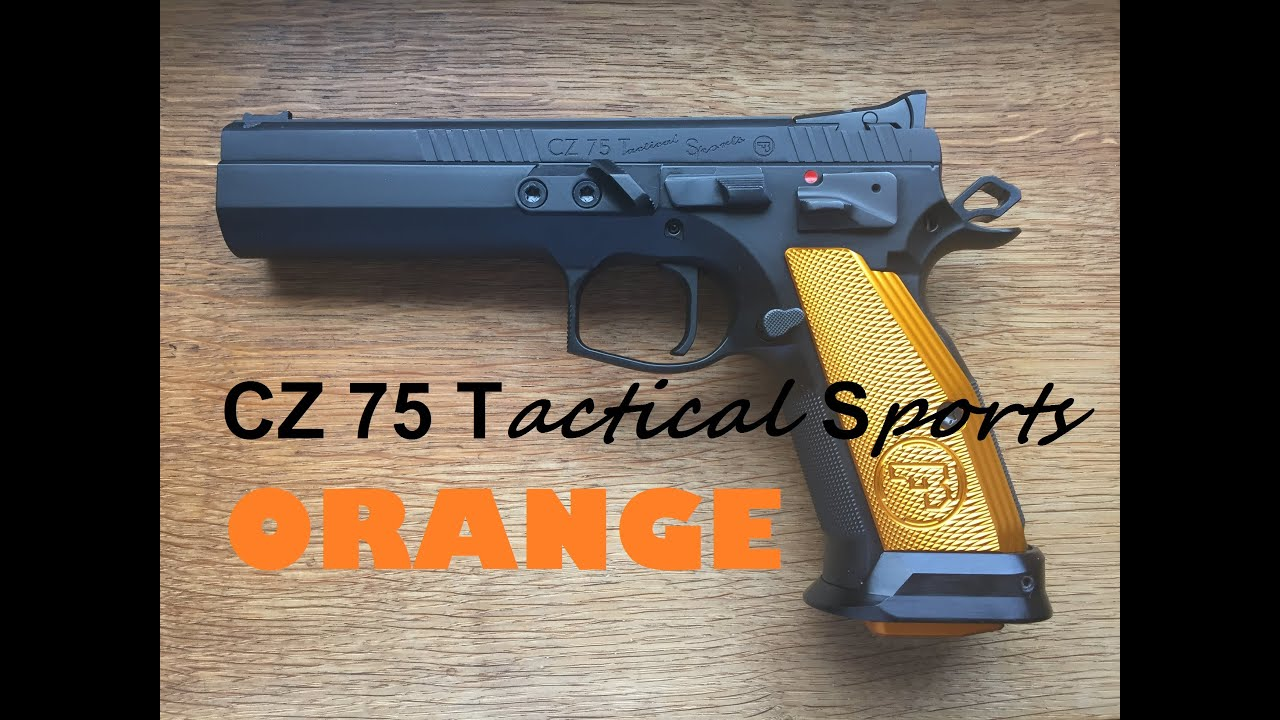 CZ 75 Tactical Sports Orange - Review, Shooting & Unboxing