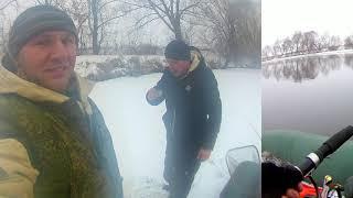 Зимний троллинг на Москва реке
