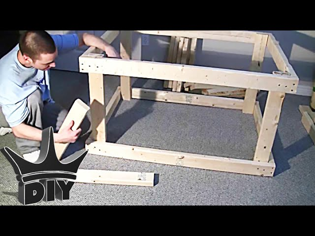 how to build an aquarium stand 12 steps with pictures wikihow