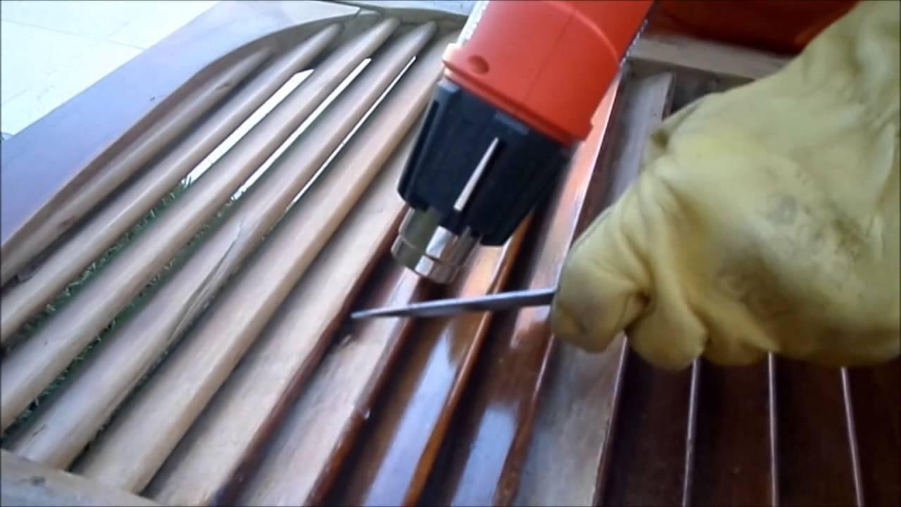 Como lijar madera con calor aleteense acomo youtube - Como lijar madera ...