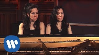 Christina & Michelle Naughton play John Adams's Short Ride in a Fast Machine (arranged for 4 hands)