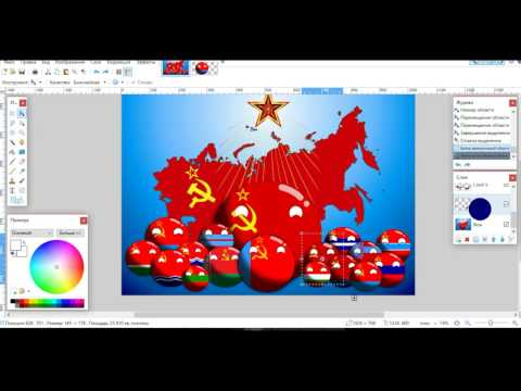 Making of CountryBall (USSR Republic)