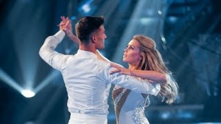 Abbey Clancy & Aljaz Skorjanec Waltz to