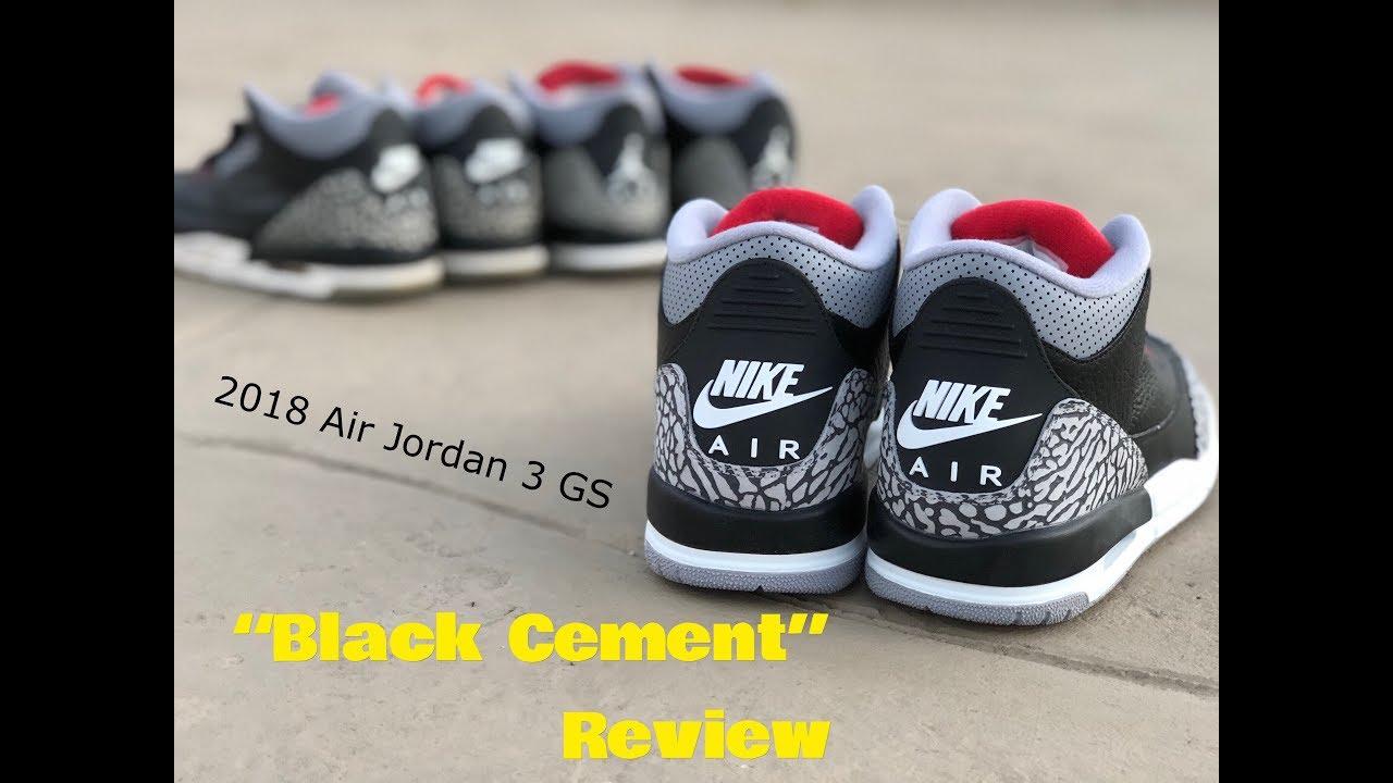 official photos 1f6ed ed6c5 where can i buy jordan 3 gs black cement 34443 4b49d