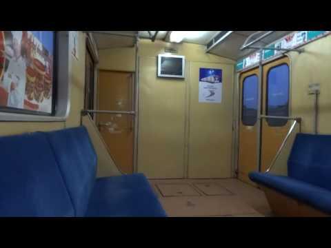 Поездка в Ереванском метро Чарбах-Шенгавит