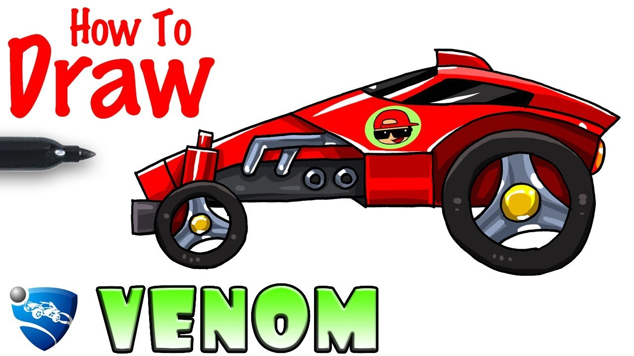How To Draw Venom Rocket League Youtube Stay tuned for more cars und fullscreen wallpapers. how to draw venom rocket league