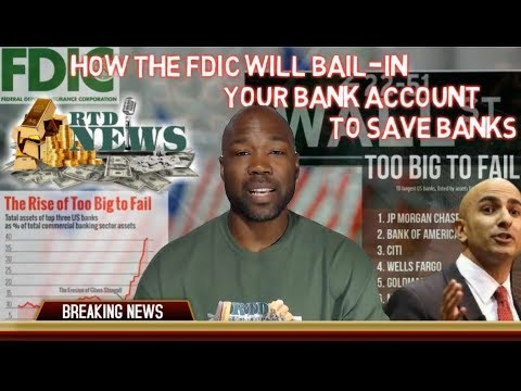 How The FDIC Will Bail-In Your Bank Account To Save The Big Banks
