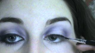 Purple Shmokey eyes tutorial. (Party Look) Thumbnail