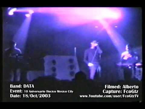 DATA - Disolucion - (Cover_Dulce_Liquido) -10 Aniversario Hocico Mexico City -18-OCT-2003