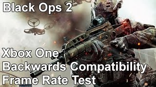 Call of Duty Black Ops 2 Xbox One vs Xbox 360 Backwards Compatibility Frame Rate Test