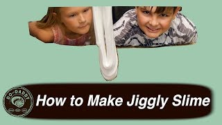 Make Super Jiggly Slime // How To