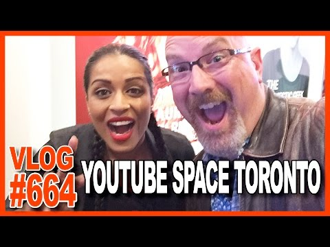Back Home, Snow? Pets say hello, YouTube Space Toronto Launch Party - Ken's Vlog #664
