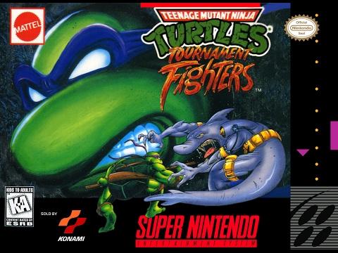 Teenage Mutant Ninja Turtles: Tournament Fighters (Super Nintendo)