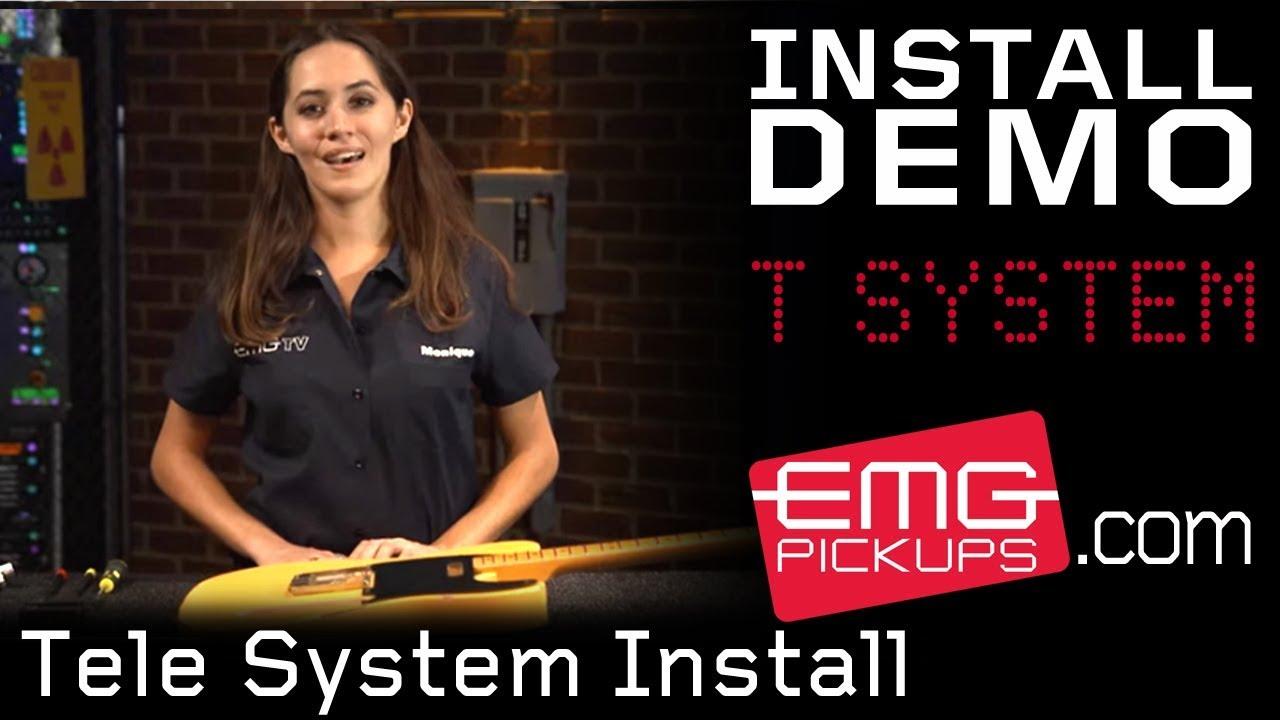 hight resolution of emg tele system install