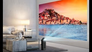 LG Unveils New Projector That Beams 150 inch 4K Display