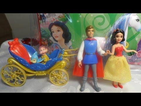 Princesa disney blancanieves juego de blancanieves juguetes disney y mattel youtube - Casitas de princesas ...