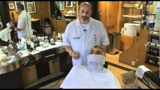 How to perform a Basic Cut Throat Wet Shave