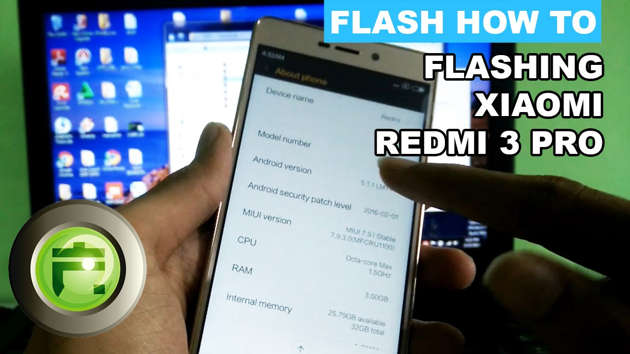 Flashing Xiaomi Redmi 3 Pro Prime Flash Gadget Store Indonesia