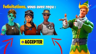 FÉLICITATIONS you have RECED these RARE SKINS in your CASIER... (Fortnite)