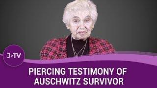Piercing Testimony of Auschwitz Survivor