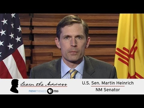 LEARN THE ADDRESS: U.S. Sen. Martin Heinrich, NM Senator