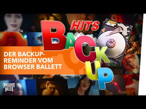Der Backup-Reminder vom Browser Ballett