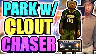 PARK w/ THE BIGGEST CLOUT CHASER • WORST PARK GAME EVER • WE LOST TO RANDOM COMEUPS + 10 TURNOVERS?😱