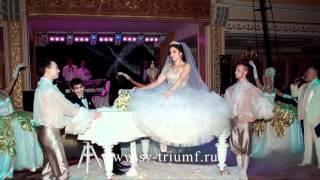 Белый рояль на свадьбу