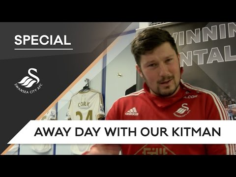 Swans TV - Away day with Swans kitman