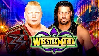 Download Video BROCK LESNAR vs ROMAN REIGNS WRESTLEMANIA 34 !!! WWE 2K18 | MrWikky92 MP3 3GP MP4