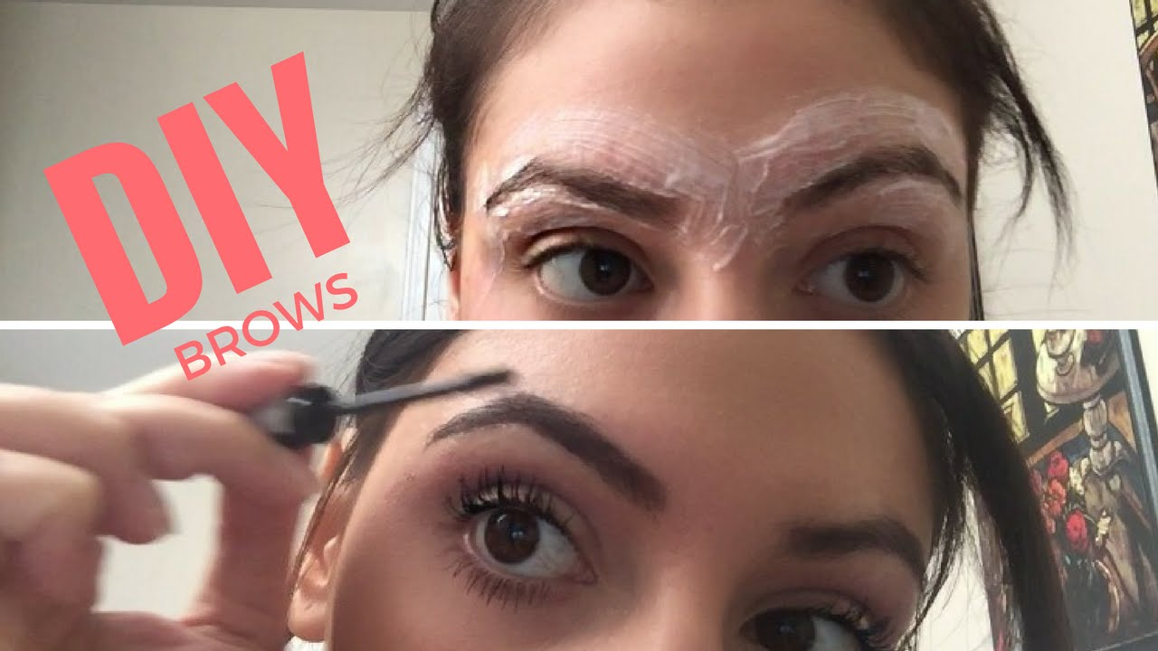 Diy Eyebrow Routine Shaping Hair Removal Tint Eyebrow Hacks