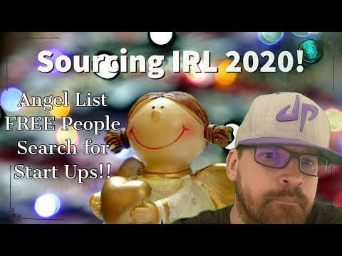 #SourcingIRL S2E1 Angel List Free People Search #Sourcing4Jobs