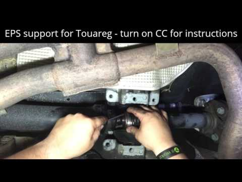 EPS support for Touareg driveshaft
