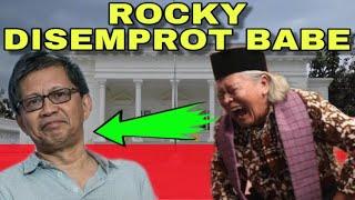 HEBOH !! Ridwan Saidi Blak Blakan Bongkar Soal Rocky Gerung dan Tokoh Perlawanan Lainnya