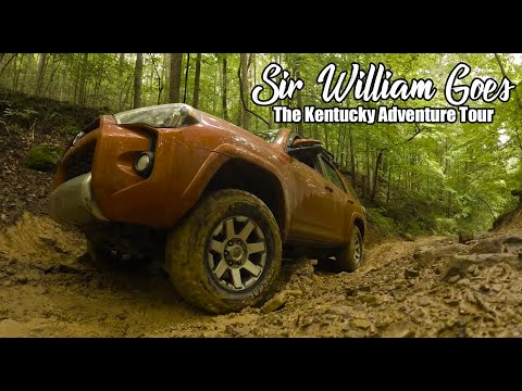 Overlanding Kentucky - Sir William Goes on The Kentucky Adventure Tour - An Interesting Ride!