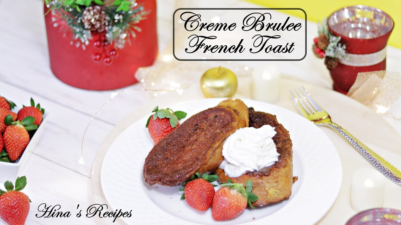 Creme Brulee French Toast Recipe In English One Stop Watch Youtube