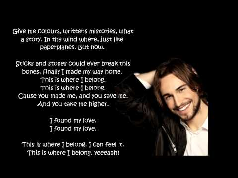 Kevin Walker - Belong (Lyrics)