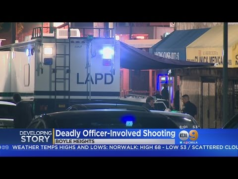 Suspect Shot, Killed By Police In Boyle Heights