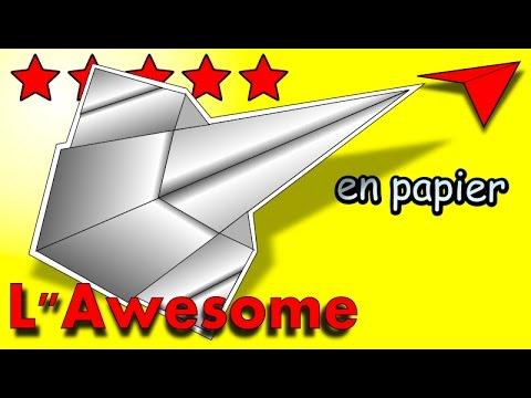 avion en papier qui vole bien tutoriel origami planeur youtube. Black Bedroom Furniture Sets. Home Design Ideas