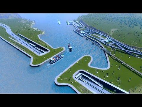 Cities Skyline - Port Kanga 1
