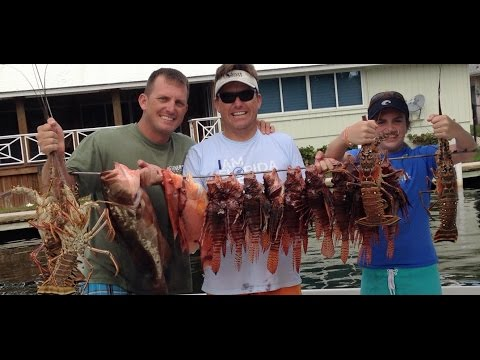 A Day On The Water! Lionfish, Lobster, Sailfish And Lots Of Good Memories!!!