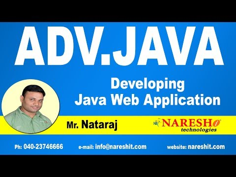 Developing Java Web Application Part 1 | Advanced Java Tutorial | Mr. Nataraj