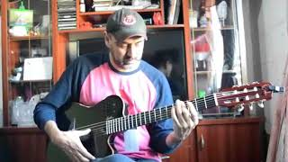 Testeando una Godin nylon Acs Sa Black