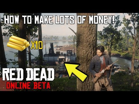HOW TO MAKE LOADS OF MONEY IN RED DEAD 2 ONLINE! - QUICK AND EASY START UP!