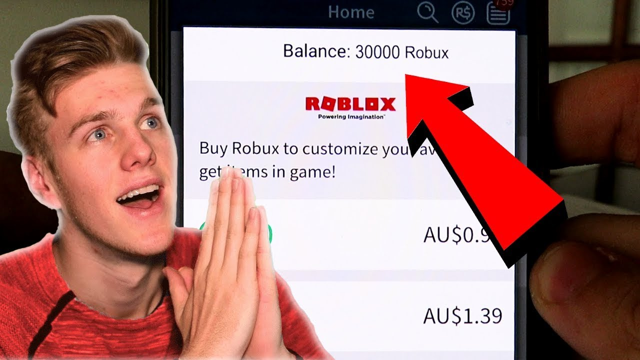 how to hack robux in roblox 2019