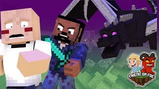 BETRAYAL IN THE END  - Minecraft Friend Or Foe #22