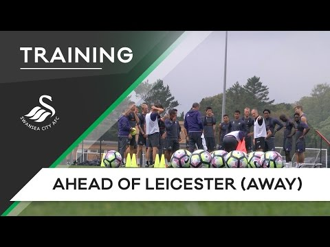Swans TV - Training ahead of Leicester (Away)